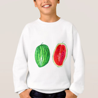 Tasty Watermelon Art Sweatshirt