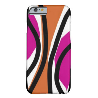 Tasty Waves Pink/orange Barely There iPhone 6 Case