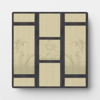 Tatami - Bamboo Plaque