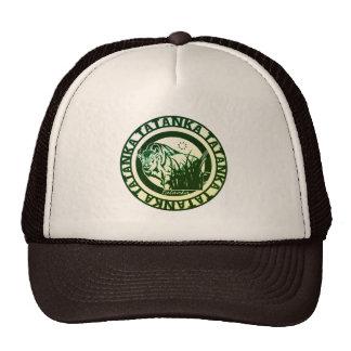 Tatanka -American Buffalo/Bison Green Leaf Cap