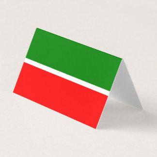 Tatarstan Flag Business Card