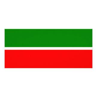 Tatarstan Flag Rack Card
