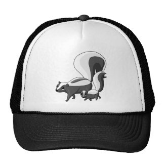 Tater and Tot the Skunks Cap