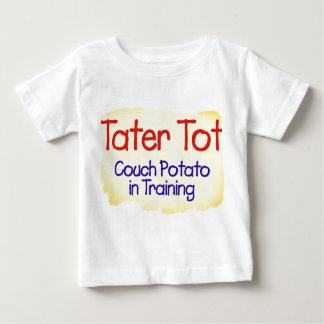 Tater Tot Couch Potato in Training Infant T-Shirt