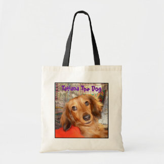 Tatiana The Dog Small Tote Bag