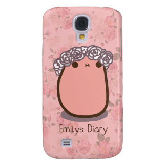 Tato flower crown galaxy s4 covers
