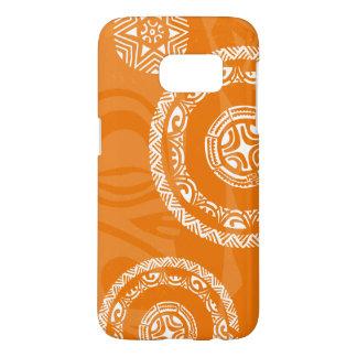 Tatou Fall Orange Galaxy S7 Barely There Case