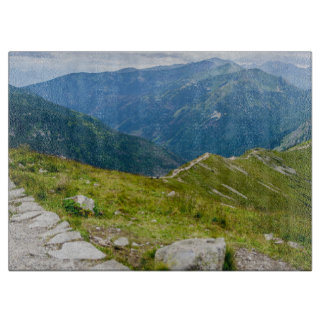 Tatra Mountains Ridge Landscape Photo Cutting Board