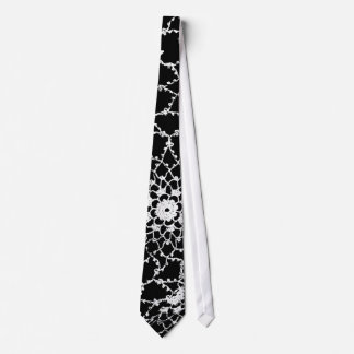Tatted Lace Design Tie
