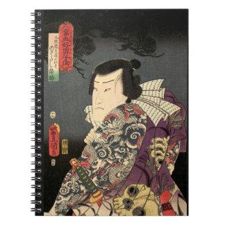 Tatted Samurai Notebook
