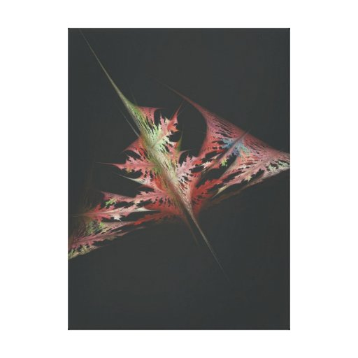 Tattered Leaf Gallery Wrapped Canvas