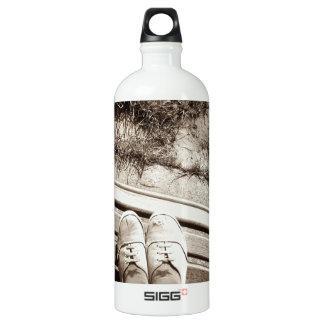 Tattered SIGG Traveller 1.0L Water Bottle