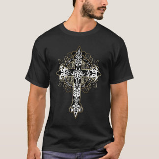 Tattoed Cross T-Shirt