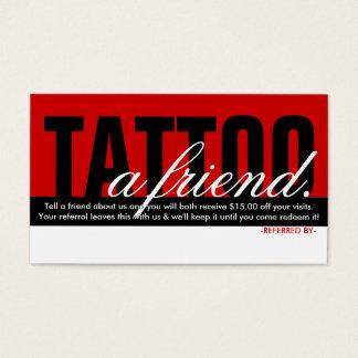 tattoo a friend referral program