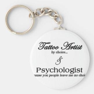 Tattoo Artist (by choice) Key Ring