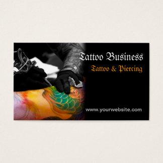 Tattoo artist salon  Business Card