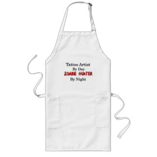 Tattoo Artist/Zombie Hunter Long Apron