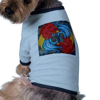 Tattoo Birds Doggie Shirt