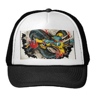 Tattoo Dragon Cap