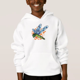Tattoo Dragonfly Hooded Sweatshirt
