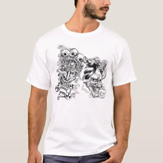 tattoo face T-Shirt