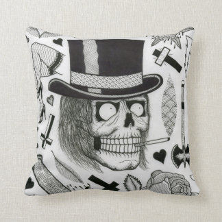 tattoo flash pillow