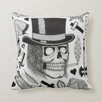 tattoo flash pillow throw cushions
