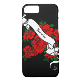 Tattoo Inspired Personalized Cell Phone/iPad case