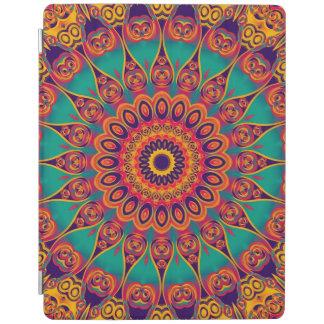Tattoo Kaleidoscope Fractal II iPad Cover