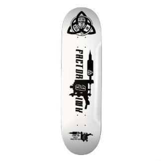 【Tattoo machine Logo 】 tattoo sk8 / FACTOR 3 INK Skateboard Decks