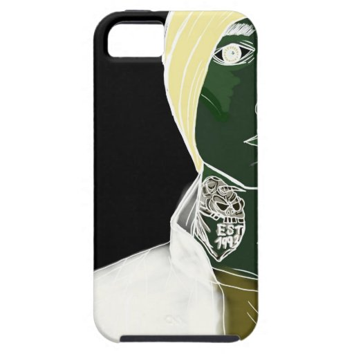 Tattoo neck Skater boy. Case For The iPhone 5