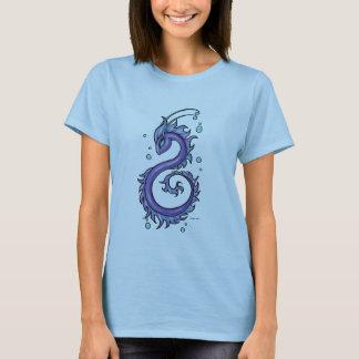 Tattoo Purple Sea Dragon, Therese L. Davis T-Shirt