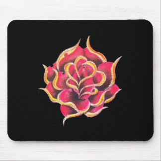 Tattoo Rose Mouse Pad