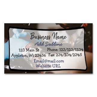Tattoo Shop Business Information Magnetic Card