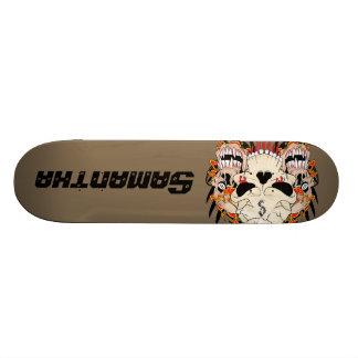 Tattoo Skull Eight Ball Comp Skateboard