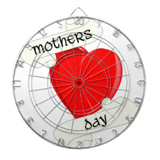 Tattoo Style Mothers Day Dart Board