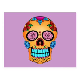 Tattoo Sugar Skull Postcard