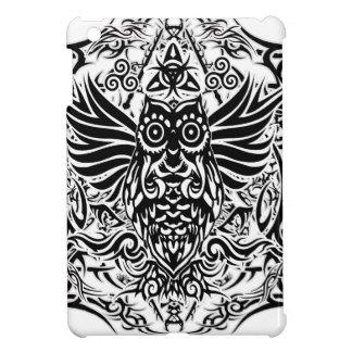 Tattoo tribal owl case for the iPad mini