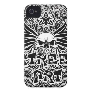 Tattoo tribal street art Case-Mate iPhone 4 case