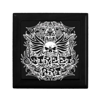 Tattoo tribal street art gift box