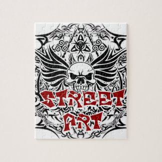 Tattoo tribal street art jigsaw puzzle
