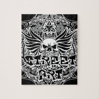 Tattoo tribal street art jigsaw puzzle