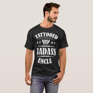 TATTOOED BADASS UNCLE,TATTOED,BADASS,UNCLE,BIKE,BI T-Shirt