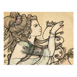 Tattooed Goddess postcards
