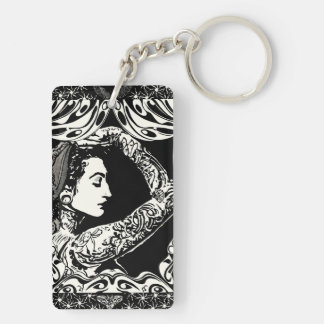 Tattooed Gypsy keychain