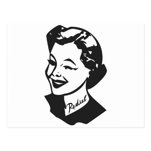 Tattooed Housewife - Radical Postcard