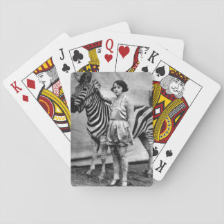 Tattooed Lady Playing Cards