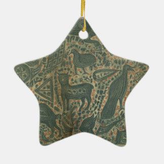 Tattooed Man Ceramic Ornament
