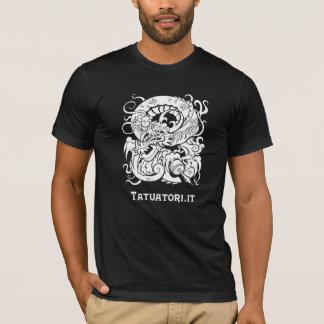 Tattooer Dragon WB T-Shirt