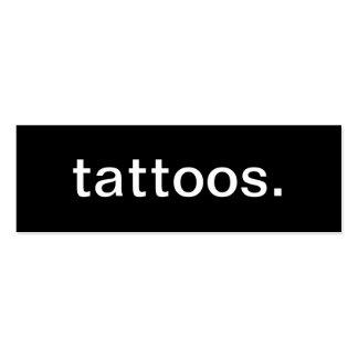 Tattoos Business Card